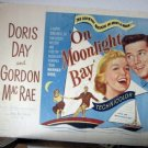 FF06 On Moonlight Bay DORIS DAY 1951 Half Sheet Poster