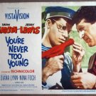 FH03 You're Never To JERRY LEWIS/DEAN MARTIN Lobby Card