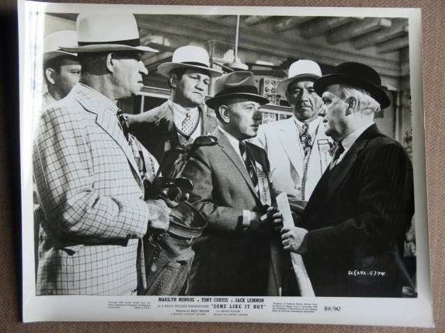 FH18 Some Like It Hot GEORGE RAFT Original Studio Still