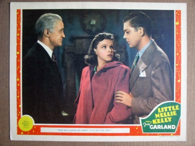 FH29 Little Nelly Kelly JUDY GARLAND/McPHAIL Lobby Card
