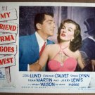 FH34 My Friend Irma Goes West DEAN MARTIN Lobby Card