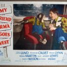 FH35 My Friend Irma Goes West JERRY LEWIS Lobby Card