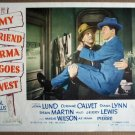 FH36 My Friend Irma Goes West JERRY LEWIS Lobby Card