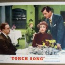 FI34 Torch Song JOAN CRAWFORD/GIG YOUNG Lobby Card