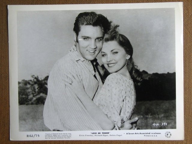 FJ05 Love Me Tender  ELVIS PRESLEY Orig Studio Still