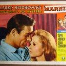 FJ21 Marnie SEAN CONNERY/TIPPI HEDREN Lobby Card