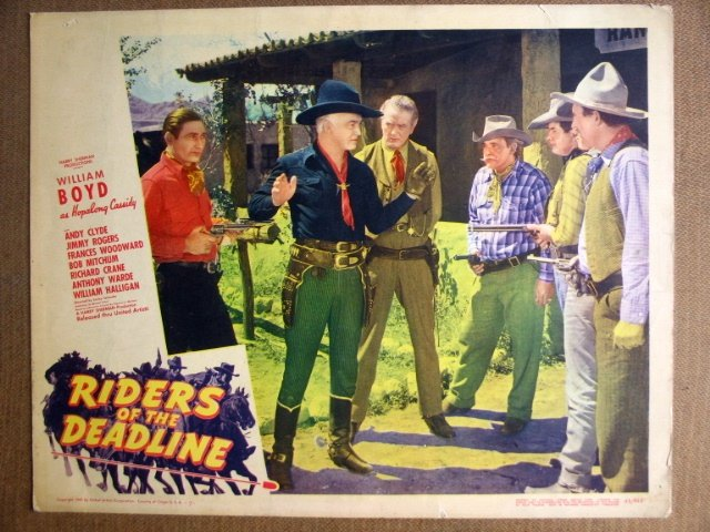 FJ27 Riders Of The Deadline WILLIAM BOYD Lobby Card