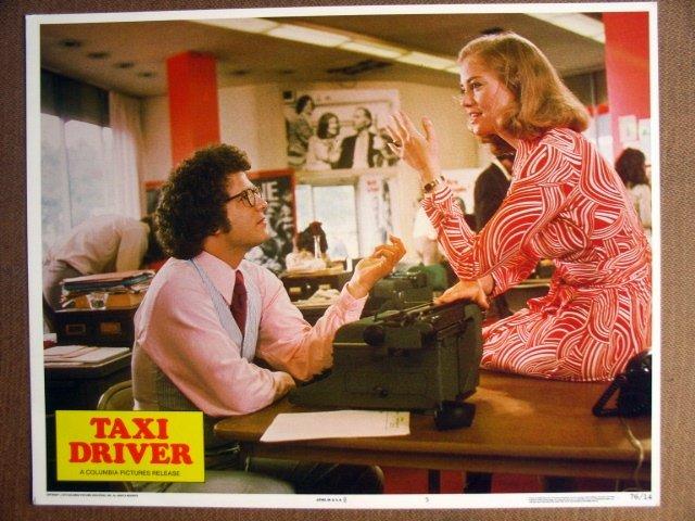 FJ35 Taxi Driver CYBILL SHEPHERD/ A BROOKS Lobby Card