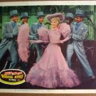 FJ39 Wabash Avenue BETTY GRABLE 1950 Lobby Card