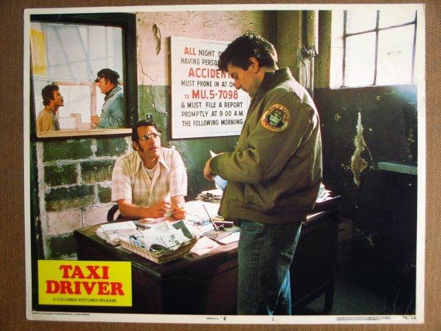 FJ45 Taxi Driver ROBERT DeNIRO/SCORCESE 1976 Lobby Card