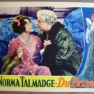 FK20 Du Barry NORMA TALMADGE 1930 Portrait Lobby Card