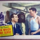 FK28 Which We Serve NOEL COWARD/JOHN MILLS Lobby Card