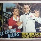 FK40 St Louis Blues DOROTHY LAMOUR Portrait Lobby Card