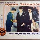 FK48 Woman Disputed NORMA TALMADGE '28 Lobby Card