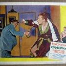 FL12 Champion KIRK DOUGLAS Original 1949 Lobby Card