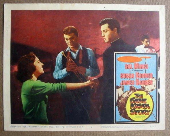 FL19 Gene Krupa Story SAL MINEO/JAMES DARREN Lobby Card