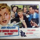 FL24 It Should Happen JUDY HOLLIDAY/J LEMMON Lobby Card