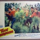 FL40 Texas Masquerade WILLIAM BOYD 1944 Lobby Card