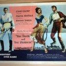 FL50 Pride & Passion CARY GRANT/LOREN Half Sheet Poster