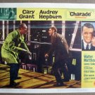 FM09 Charade CARY GRANT/AUDREY HEPBURN Lobby Card