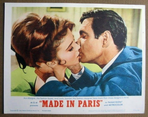 FM18 Made In Paris ANN-MARGRET/LOUIS JOURDAN Lobby Card