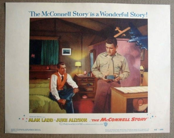 FM20 McConnell Story ALAN LADD/RICH WHITMORE Lobby Card