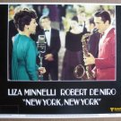 FM22 New York NY LIZA MINNELLI/ROBERT DeNIRO Lobby Card