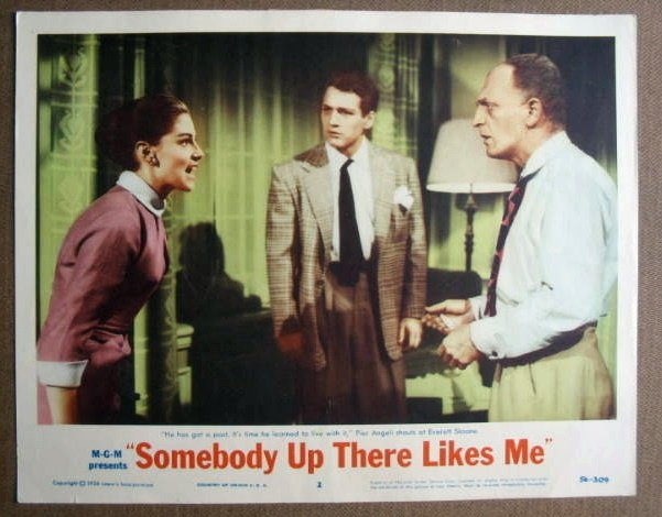 FM34 Somebody Up There PAUL NEWMAN/P ANGELI Lobby Card