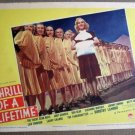 FM37 Thrill Of A Lifetime BETTY GRABLE 1937 Lobby Card