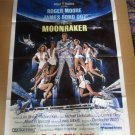 FM50 Moonraker ROGER MOORE Advance One Sheet Poster