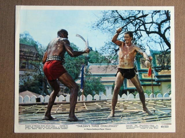 FN05 Tarzan's 3 Challenges JOCK MAHONEY Studio Still