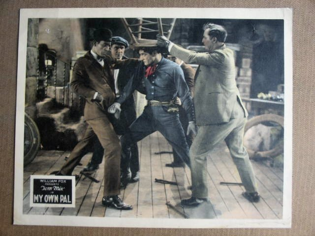 FN26 My Own Pal TOM MIX Original 1926 Lobby Card