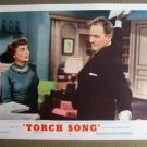 FN42 Torch Song JOAN CRAWFORD Original 1953 Lobby Card
