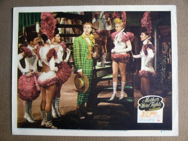 FO16 Mother Wore Tights BETTY GRABLE/DAILEY Lobby Card