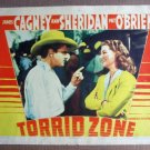 FO21 Torrid Zone JAMES CAGNEY/ANN SHERIDAN Lobby Card
