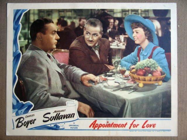 GJ03 Appointment For Love MARGARET SULLAVAN Lobby Card