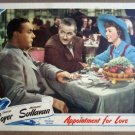 GJ03 Appointment For Love MARGARET SULLAVAN Lobby Card