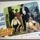GL32 Road To Utopia BOB HOPE/BING CROSBY Lobby Card