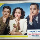 GL42 That Uncertain Feeling MERLE OBERON Lobby Card
