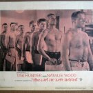 GK11 Girl He Left TAB HUNTER (bare-chested) Lobby Card