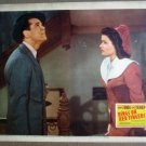 GL31 Rings On Fingers GENE TIERNEY/H FONDA Lobby Card