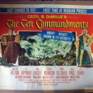 GM01 Ten Commandments CHARLTON HESTON Half Sheet Poster
