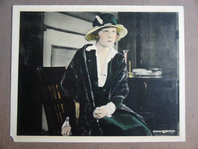 FV24 MAE MARSH Portrait Lobby Card Circa 1920s