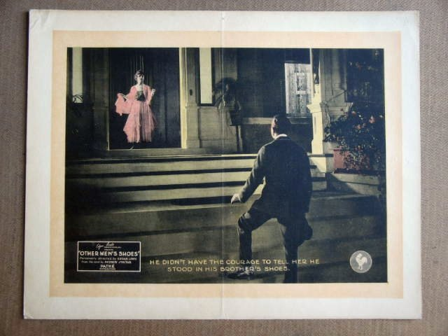 FW33 Other Men's Shoes IRENE BOYLE 1920 Lobby Card