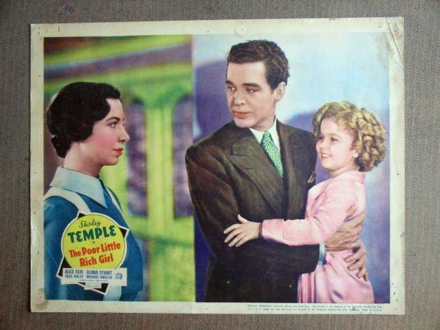 FU35 Poor Little Rich Girl SHIRLEY TEMPLE 1936 Lobby Card