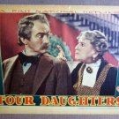 FR17 Four Daughters CLAUDE RAINS 38 Portrait Lobby Card