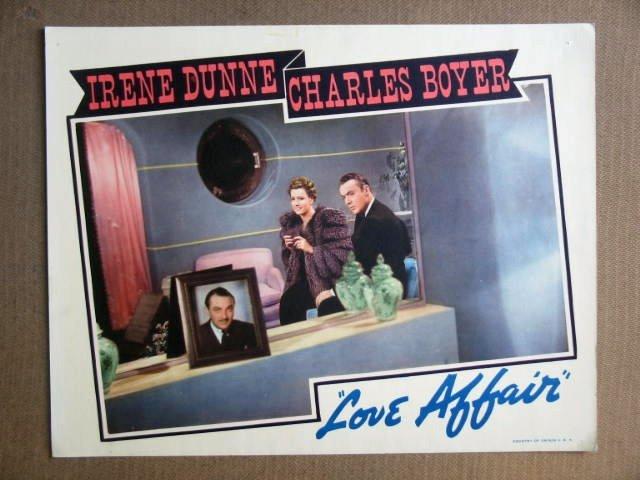 FS29 Love Affair IRENE DUNNE/CHARLES BOYER Lobby Card