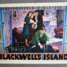 FX13 Blackwell's Island JOHN GARFIELD 1939 Lobby Card