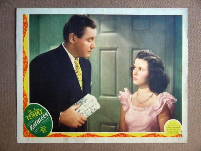 FS26 Kathleen SHIRLEY TEMPLE/HERBERT MARSHAL Lobby Card