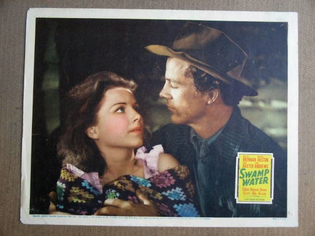 FV40 Swamp Water ANNE BAXTER/DANA ANDREWS Lobby Card